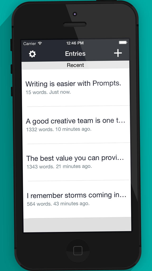 Prompts - For Writers App - 5