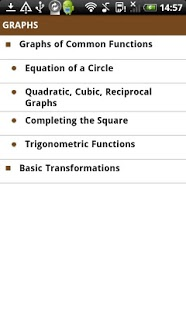 mathscard GCSE App - 3