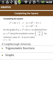 mathscard GCSE App - 5