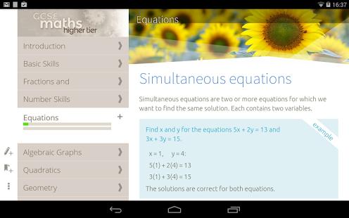 GCSE Maths Higher - nimbl-2