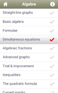 Maths GCSE Revision -Edexcel App - 7