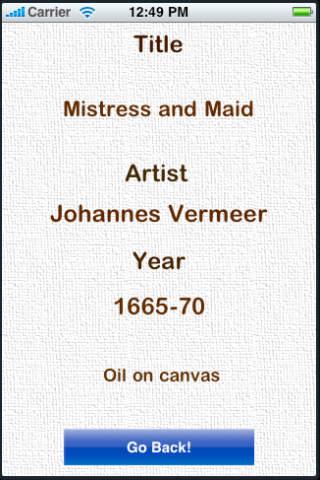 Art History Test App - 3