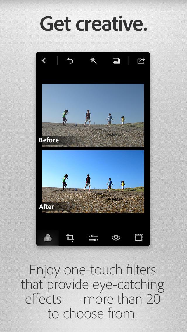 Adobe Photoshop Express App - 1