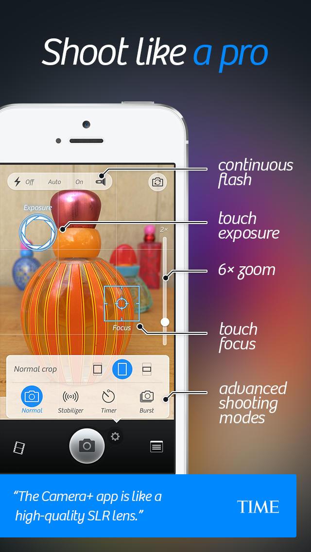 Camera+ App - 2