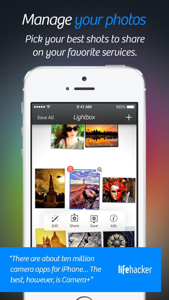 Camera+ App - 5