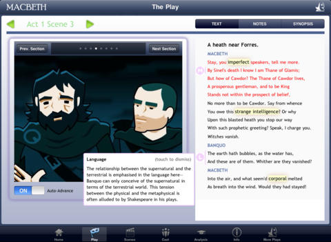 Shakespeare In Bits: Macbeth iPad Edition-1