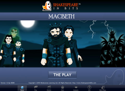 Shakespeare In Bits: Macbeth iPad Edition-3