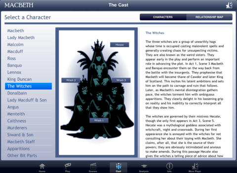 Shakespeare In Bits: Macbeth iPad Edition-4
