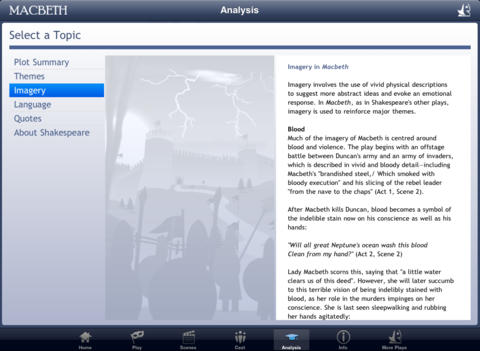 Shakespeare In Bits: Macbeth iPad Edition-5