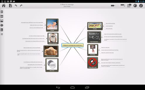 Mindomo (mind mapping) App - 1