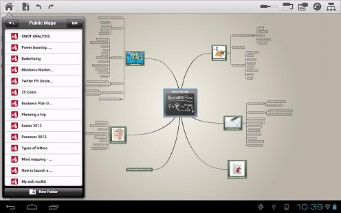 Mindomo (mind mapping) App - 6