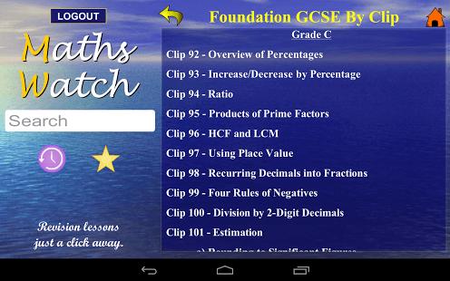 MathsWatch GCSE App - 3