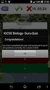 IGCSE Biology: Guru-App GCSE-7