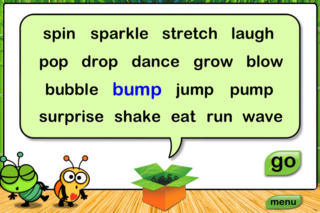 Noodle Words HD - Action Set 1 App - 5