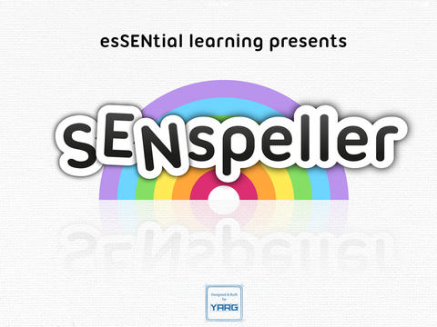SENspeller - The Autism Spelling App App - 1