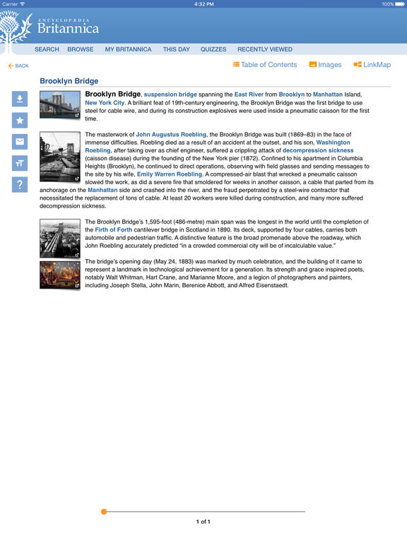 Encyclopaedia-Britannica App - 2