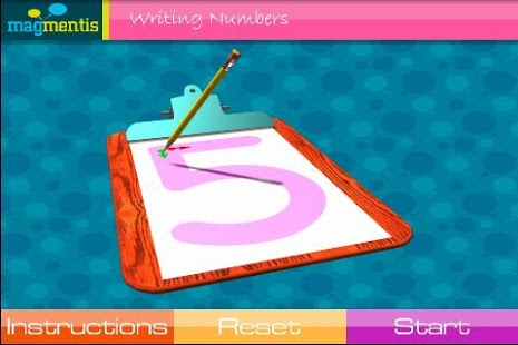 Writing Numbers App - 1