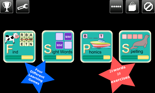 First Grade Kids Words Lite App - 8