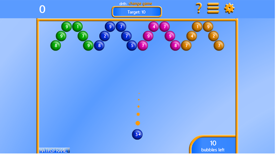 Bubble Pop Number Bonds App - 1