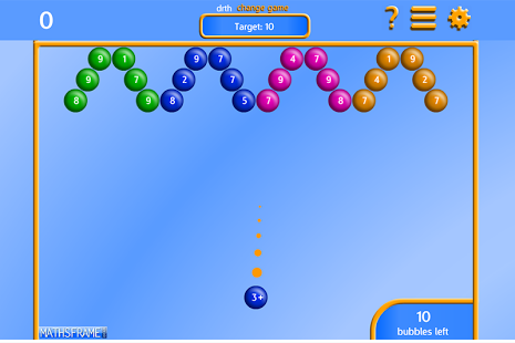 Bubble Pop Number Bonds App - 7