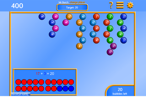 Bubble Pop Number Bonds App - 8