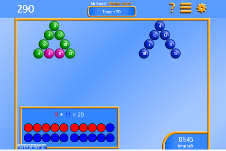 Bubble Pop Number Bonds App - 9