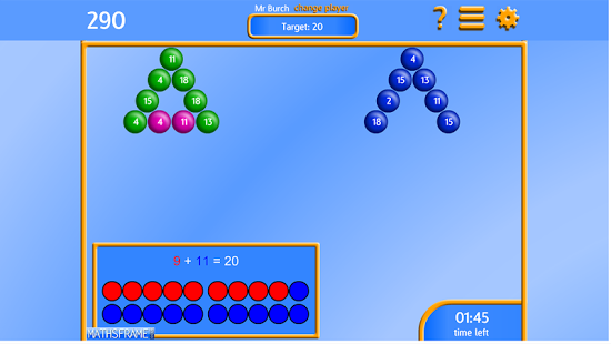 Bubble Pop Number Bonds App - 21