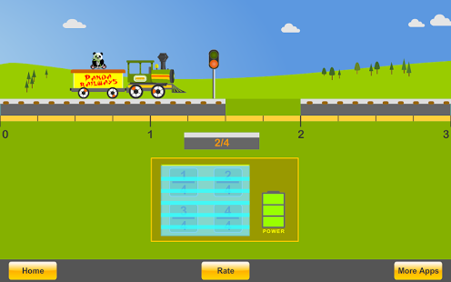 Fractions with Trains App - 2