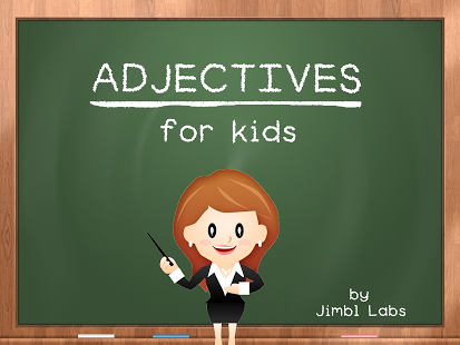 Adjectives For Kids App - 1