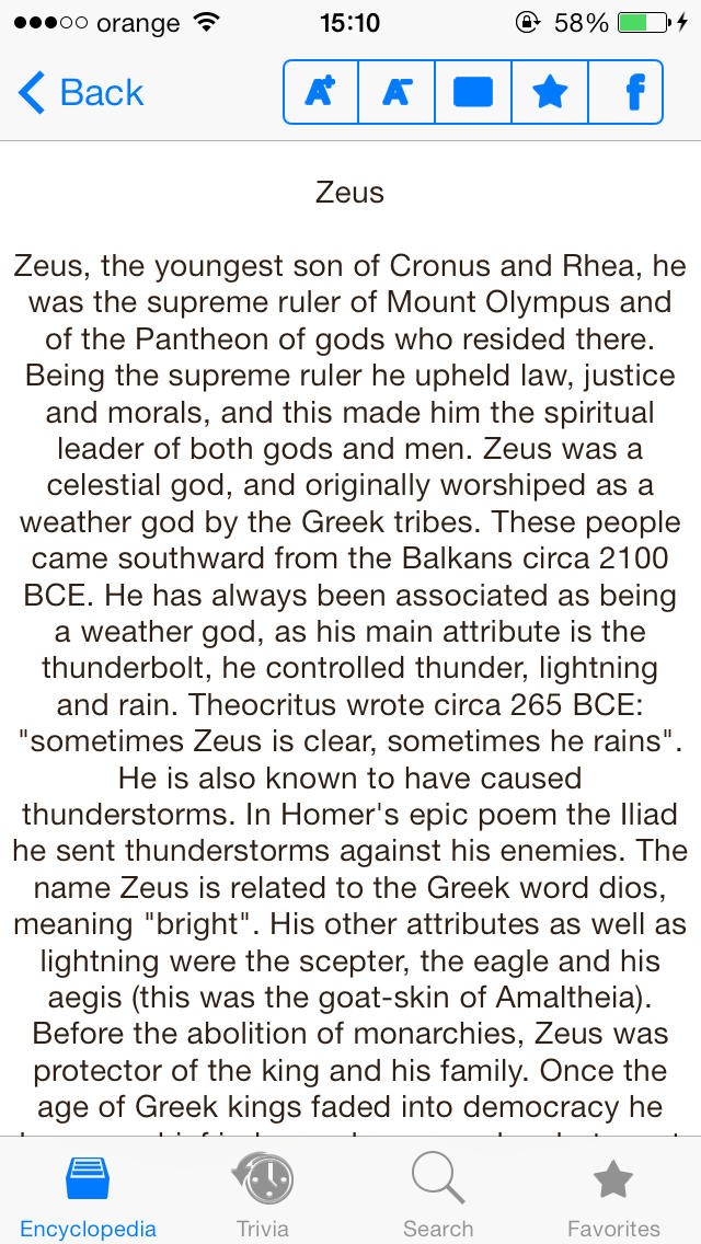 Mythology & Trivia-4