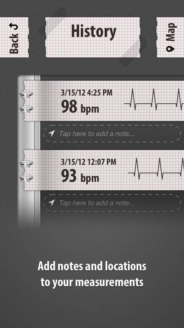 Cardiograph: Heart Rate Pulse Measurement