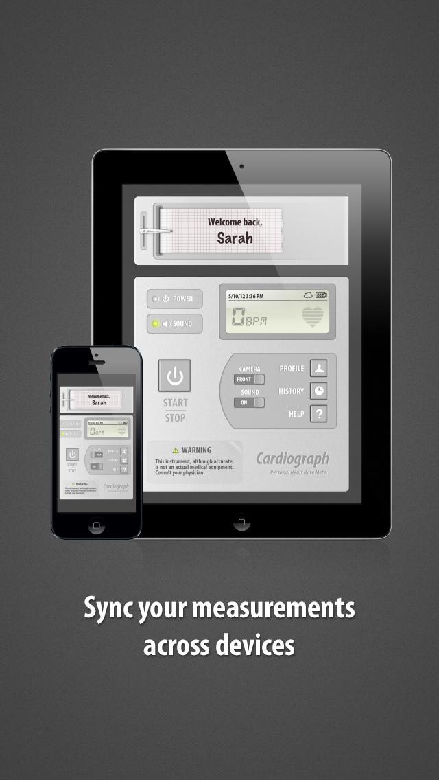 Cardiograph: Heart Rate Pulse Measurement -4