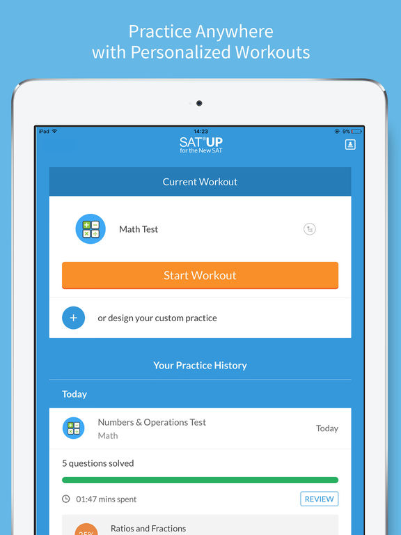SAT Up - New SAT Test Prep and Tutoring App - 1