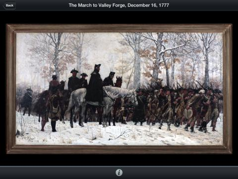 American Revolution Interactive Timeline for iPad App - 4