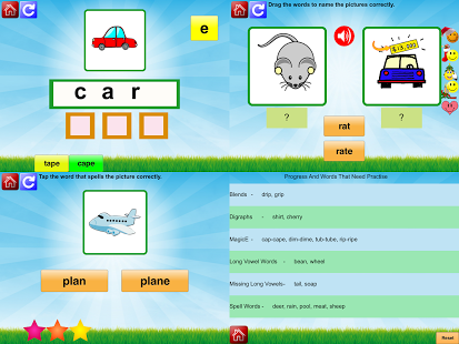 First Grade Phonic Reading Fun App - 5