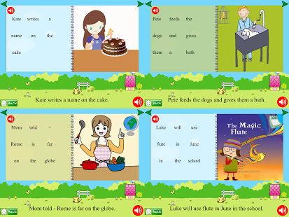 First Grade Phonic Reading Fun App - 15