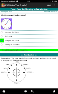 Key Stage 2(KS2) Maths-Yrs 3/4 App - 3