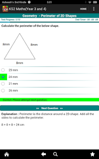 Key Stage 2(KS2) Maths-Yrs 3/4-6
