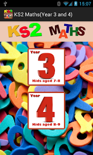 Key Stage 2(KS2) Maths-Yrs 3/4 App - 9