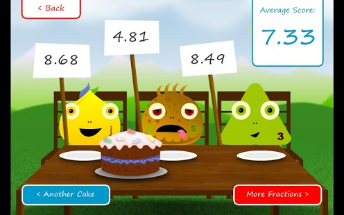 Squeebles Fractions App - 4