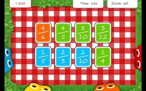 Squeebles Fractions App - 5