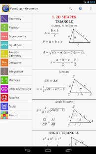 Maths Formulas App - 6