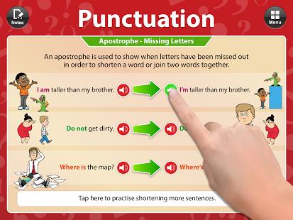 Punctuation App - 1