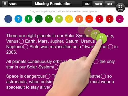 Punctuation App - 2