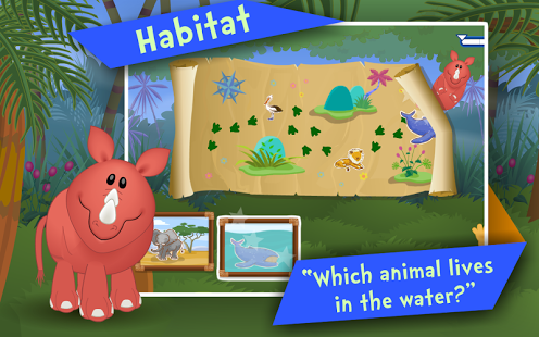 Animals! Kids Preschool Games-13