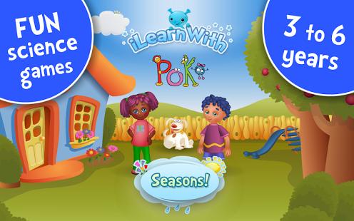 Seasons! Kids Learning games