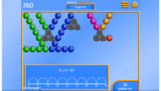 Bubble Pop Multiplication App - 5