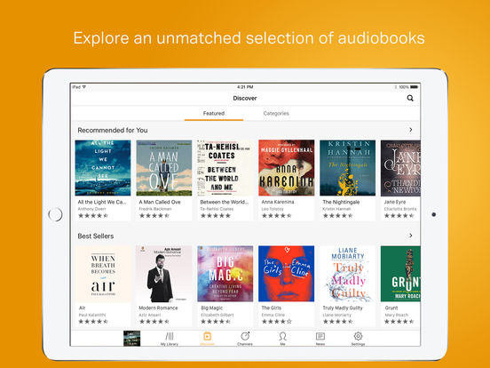 Audible – audio books, original series & podcasts-1