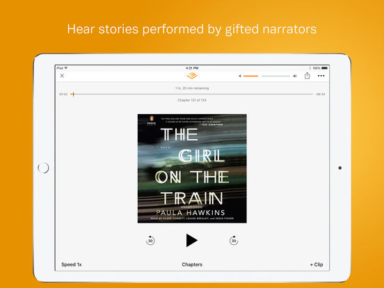 Audible – audio books, original series & podcasts-2