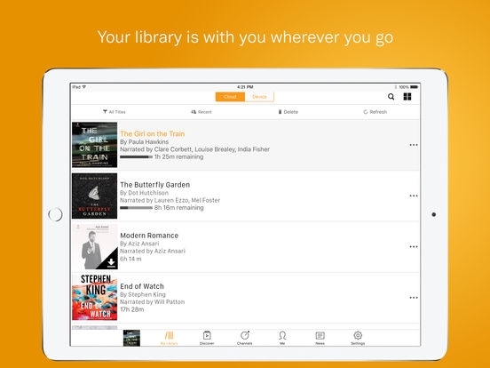 Audible – audio books, original series & podcasts-3